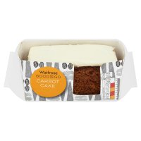 Waitrose Good To Go carrot cake