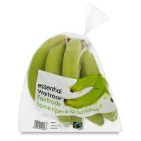 essential Waitrose Fairtrade home ripening bananas