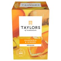 Taylors lemongrass & ginger wrapped tea bags, 20 pack