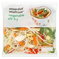 essential Waitrose vegetable stir fry