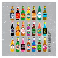 Image of Beer Birthday Card