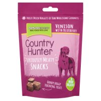 Country Hunter snack venison blueberry