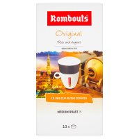 Rombouts original blend 10 individual filter coffees