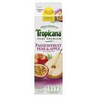 Tropicana passionfruit pear & apple