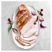 Free range stock basted turkey breast with bacon 1.5kg