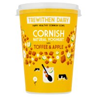 Trewithen Dairy Natural Yoghurt Toffee & Apple
