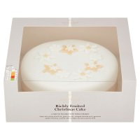Waitrose Christmas richly fruited tree cake