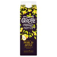 Grove Organic Fruit Co. pear & apple juice