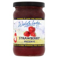 Welsh Lady strawberry conserve