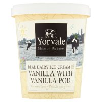 Yorvale ice cream vanilla