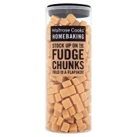 Waitrose Cook's Ingredients, fudge chunks