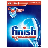 Finish All in One, 52 dishwasher tablets