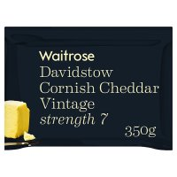 Waitrose Cornish Cheddar Vintage Strength 7