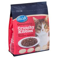 HiLife Completely crunchy kibbles with scottish salmon