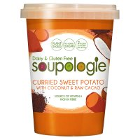 Soupologie Sweet Potato with Coconut & Raw Cacao