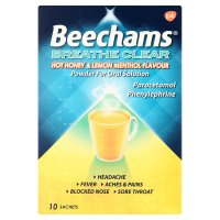 Beechams breathe clear honey & lemon