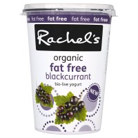 Rachel's fat free blackcurrant yogurt