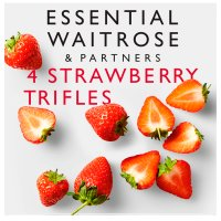 essential Waitrose Strawberry Trifles