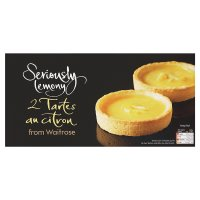 Waitrose Seriously Lemony 2 tartes au citron
