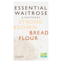 essential Waitrose strong brown bread flour