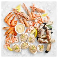 Waitrose luxury shellfish platter