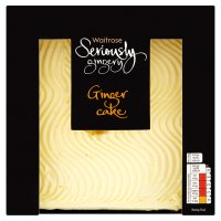 Waitrose Seriously Gingery ginger cake