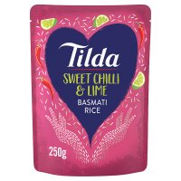 Tilda Steamed Basmati Rice With Chilli & Lime