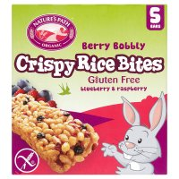 Nature's Path rice bites blueberry & raspberries