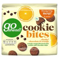Go Ahead Cookie Bites Chocolate & Orange