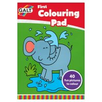 Galt sticker colouring book