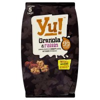 Yu! granola & raisin fruit pieces