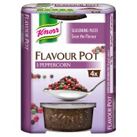Knorr three pepper 4 pack flavour pot