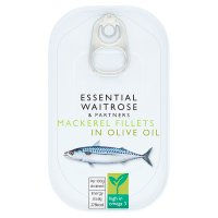 Essential Waitrose mackerel in olive oil