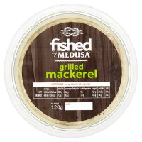 Fished by Medusa grilled mackerel