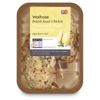 Waitrose 2 British lemon & herb roast chicken breast fillets