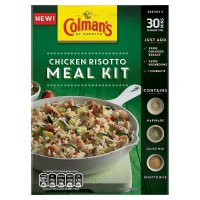 Colmans meal kit chicken risotto