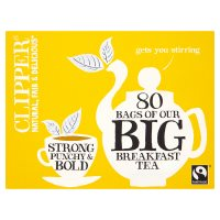 Clipper Fairtrade big breakfast tea 80 bags