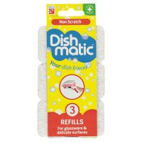 Dishmatic non scratch refills (pack of 3)