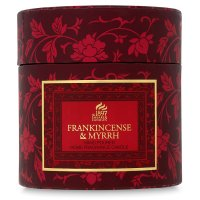 Shearer frankincense & myrrh box candle