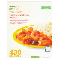 Waitrose Love life Sweet & Sour Chicken with Rice