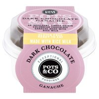 Pots & Co Dark Chocolate Ganache