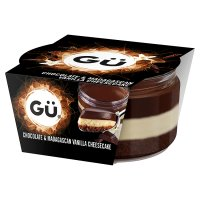 Gü chocolate & vanilla cheesecake
