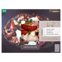 Waitrose 1 Antipasti Charcoal Sourdough Pizza