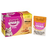 Whiskas Simply grilled poultry in jelly pouch cat food