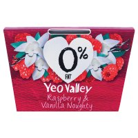 Yeo Valley 0% fat raspberry & vanilla yeogurt