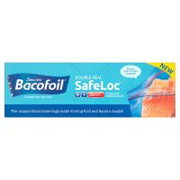 Bacofoil Double-Seal SafeLoc Food & Freezer Bags
