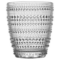 Waitrose Bobble Clear Tumbler
