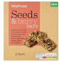 Waitrose Seeds & Berry Cereal Bars