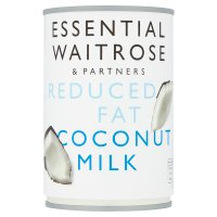 essential Waitrose reduced fat coconut milk
