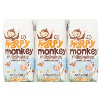 Happy Monkey milkshakes chocolate